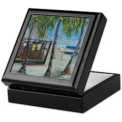 BCs Beach Bar Keepsake Box