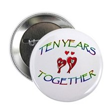 """ANNIVERSARY 2.25"""" Button (10 pack)"""