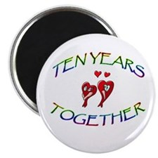 "ANNIVERSARY 2.25"" Magnet (100 pack)"