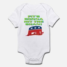 FIT'S GONNA HIT THE SHAN! Infant Bodysuit