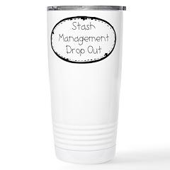 Fabric Stash Management Stainless Steel Travel Mug