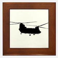 Unique Helicopters Framed Tile