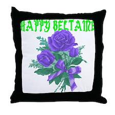 HAPPY Beltaine Throw Pillow