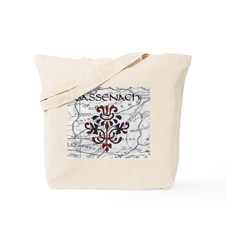 Sassenach Thistle Tote Bag
