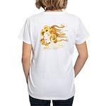 Anime Air Elemental Yoga Women's V-Neck T-Shirt