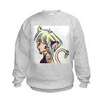Anime Art on a Kids Sweatshirt