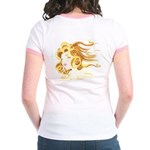 Illustrative 'Elemental Air' Jr. Ringer T-Shirt