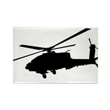 Cute Helicopter pilot Rectangle Magnet