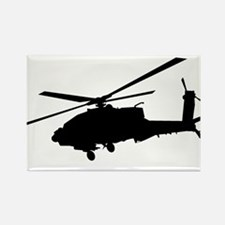 Unique Helicopter pilots Rectangle Magnet