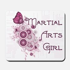 Martial Arts Girl Mousepad