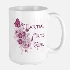Martial Arts Girl Mug