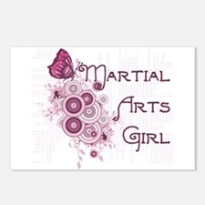 Martial Arts Girl Postcards (Package of 8)