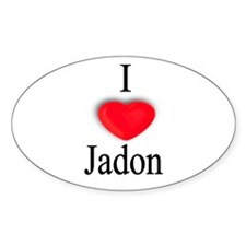 Jadon Oval Decal