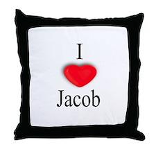 Jacob Throw Pillow