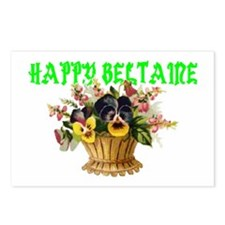 HAPPY Beltaine Postcards (Package of 8)