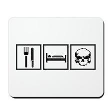 Eat Sleep Airkooled Kustoms Mousepad