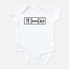 Eat Sleep Airkooled Kustoms Infant Bodysuit