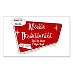 Breastaurant for Mama Rectangle Sticker 10 pk)