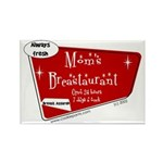 Breastaurant for Mama Rectangle Magnet (10 pack)