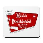 Breastaurant for Mama Mousepad