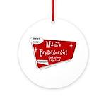 Breastaurant for Mama Ornament (Round)