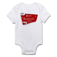 Breastaurant for Mama Infant Bodysuit
