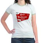 Breastaurant for Mama Jr. Ringer T-Shirt