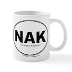 NAK- Nursing at Keyboard Mug
