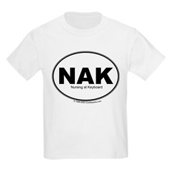 NAK- Nursing at Keyboard T-Shirt