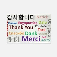 Languages of the world - thank you Magnets