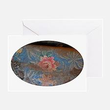 Marfa Vintage Rose Greeting Card - Single