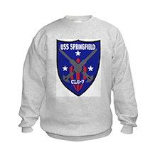 USS Springfield (CLG 7) Sweatshirt