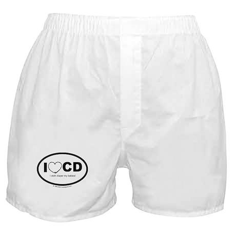 I love Cloth Diapering! Boxer Shorts