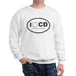 I love Cloth Diapering! Sweatshirt