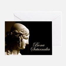 Bona Saturnalia Card Greeting Cards