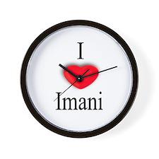 Imani Wall Clock