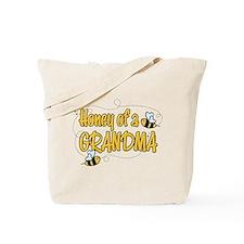 Honey of a Grandma Tote Bag