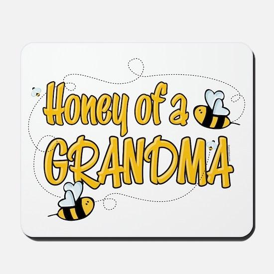 Honey of a Grandma Mousepad