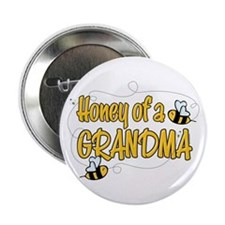 """Honey of a Grandma 2.25"""" Button"""