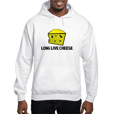 Long Live Cheese Hooded Sweatshirt