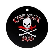 Captain Bob Ornament (Round)