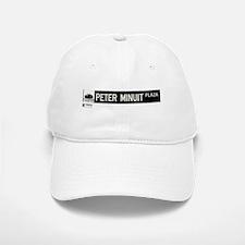Peter Minuit Plaza in NY Baseball Baseball Cap