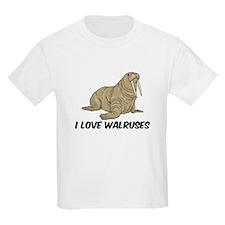I Love Walruses T-Shirt