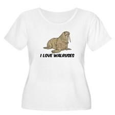 I Love Walruses T-Shirt