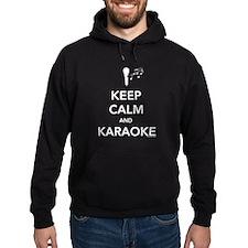 Keep Calm & Karaoke Hoodie