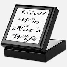 Civil War Nut's Wife Keepsake Box