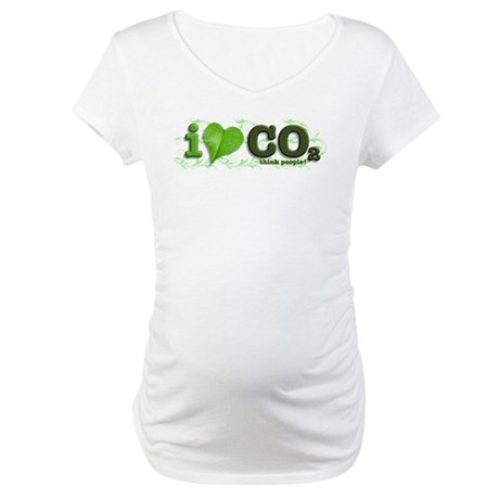 Green Maternity T-Shirt