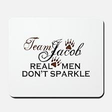 Team Jacob No Sparkle Mousepad