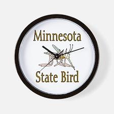 Minnesota State Bird Wall Clock
