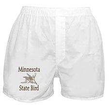 Minnesota State Bird Boxer Shorts